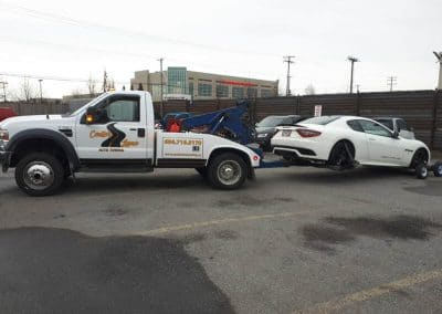 Center Lane Towing Company in BC